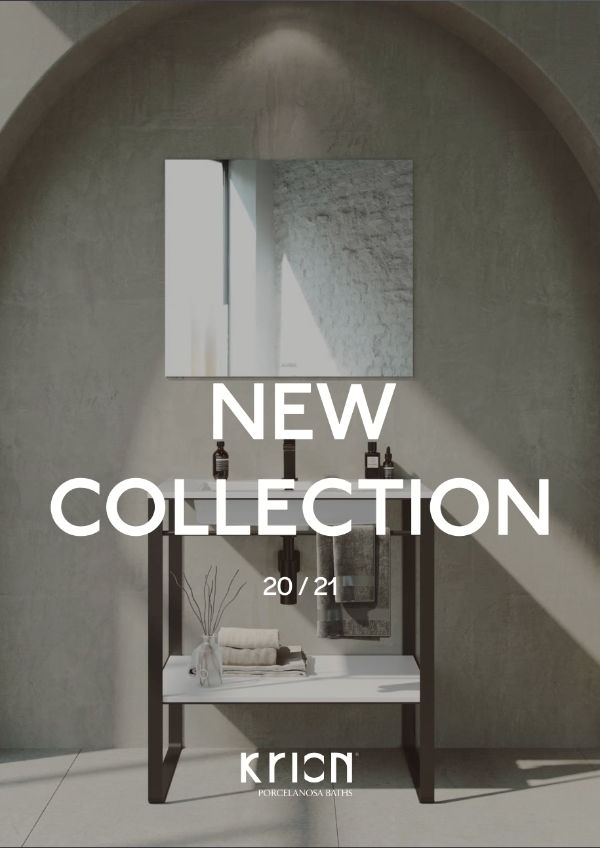 New collection   KRION Bath