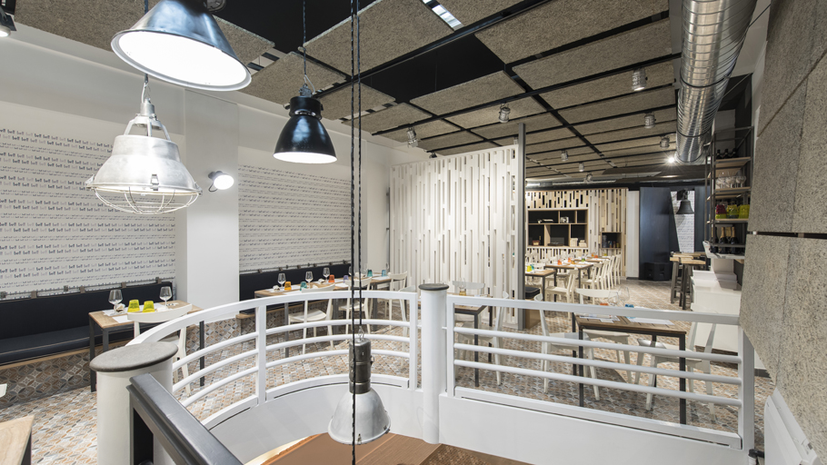 PORCELANOSA Grupo Projects: Mediterranean freshness in Bell restaurant in Roma, Italy