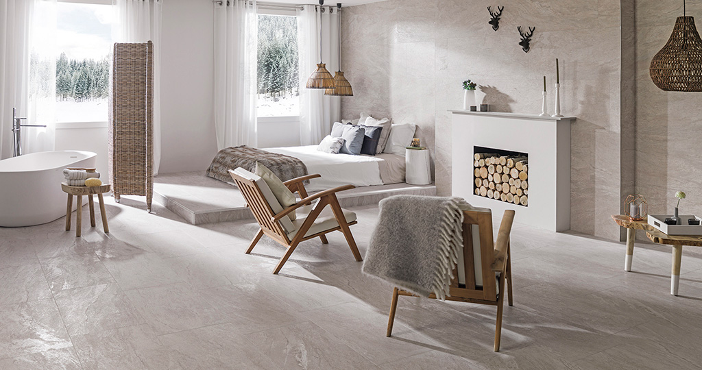 The Austin porcelain tile by Venis: a natural and elegant journey around the world