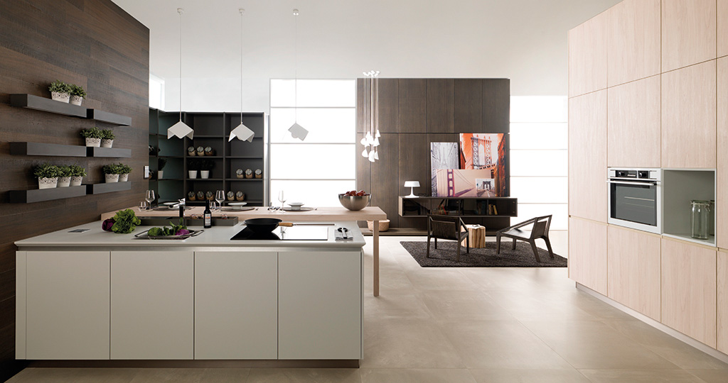 Residence kitchens: functional aesthetic minimalism