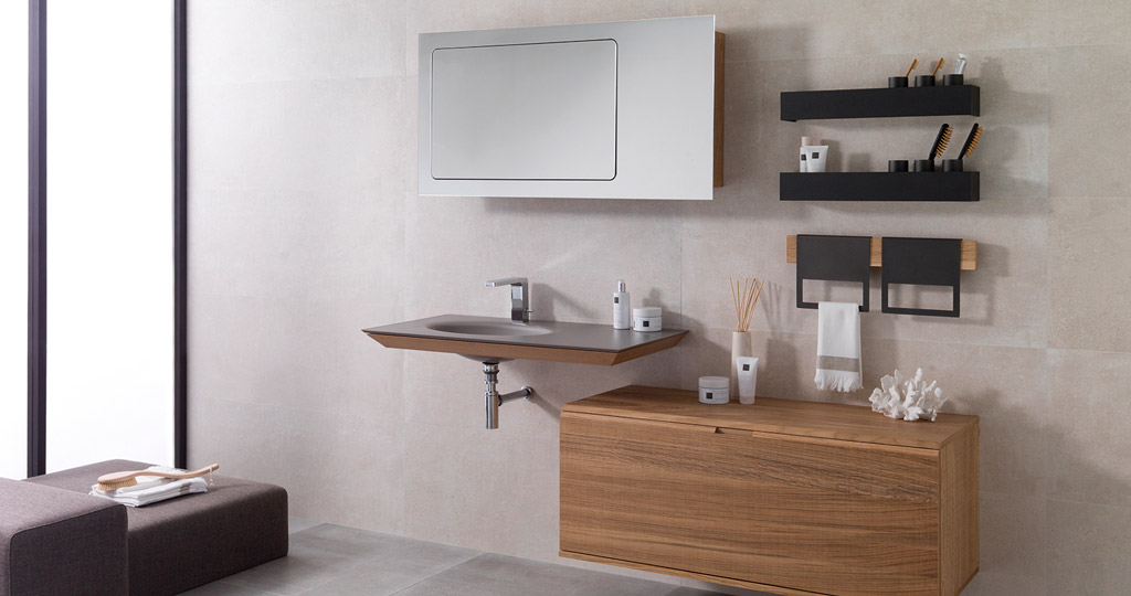 Mertens, the latest bathroom furniture design by Gamadecor
