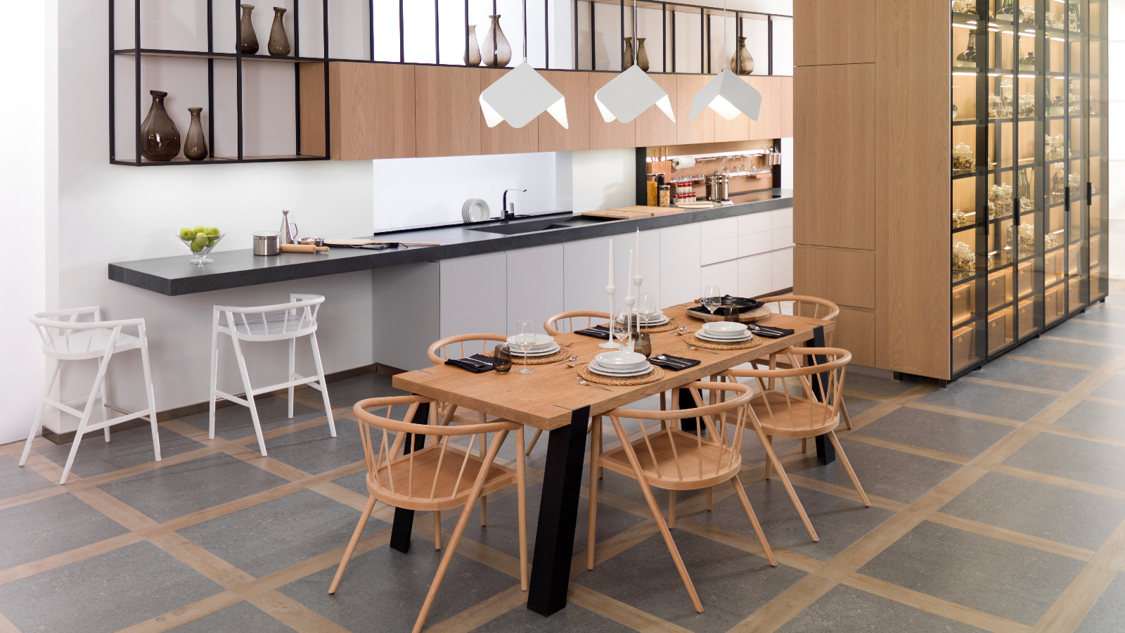 The Indoor Collection: auxiliary kitchen furniture with the Gamadecor seal