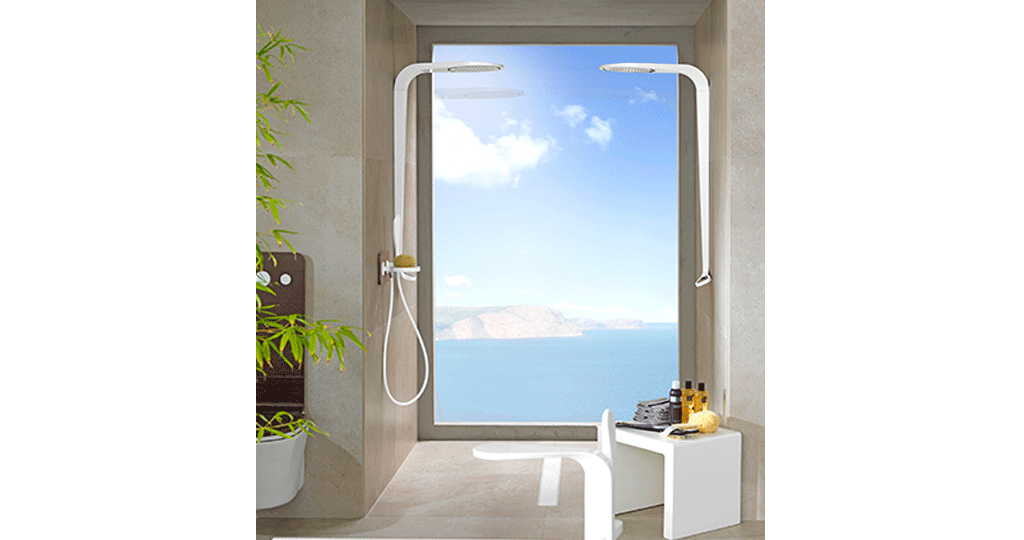 Showers: the experience in the bathroom inspired by nature