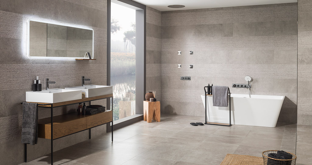 Pure Line Wood: the bathroom furniture that pays a tribute to wood
