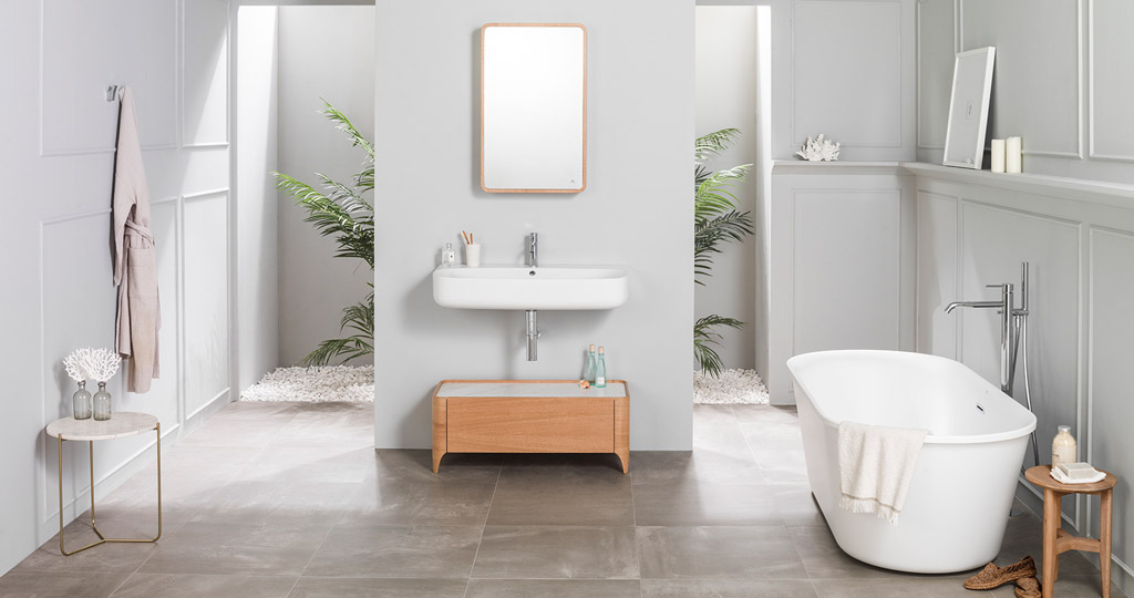 Cersaie 2017: Nature, simplicity turned into bathroom furniture by Noken