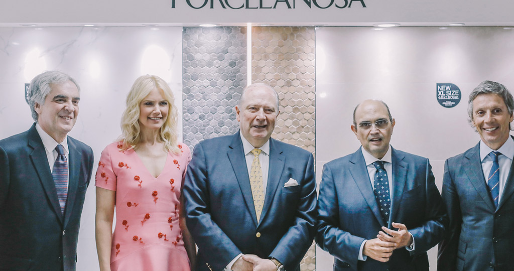 PORCELANOSA Grupo consolidates its presence in South America with two events in Buenos Aires and Santiago, Chile