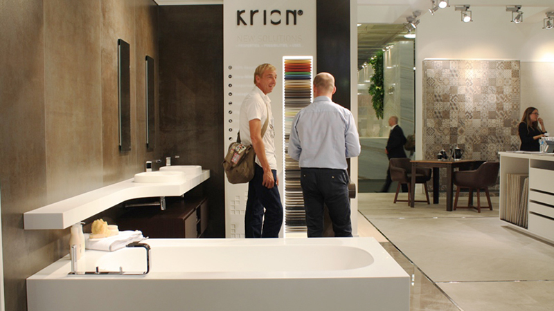 PORCELANOSA Grupo seduces architects and interior designers at the 21st edition of 100% Design London