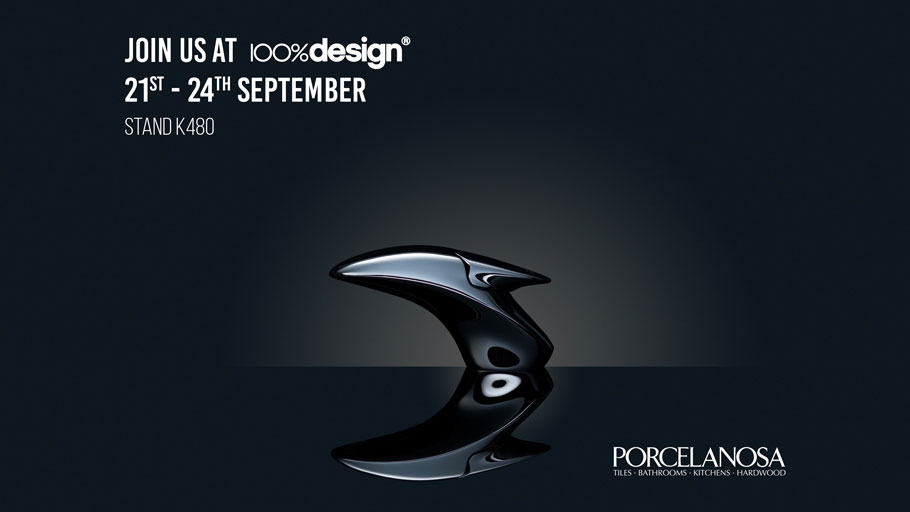 PORCELANOSA Grupo at 100% Design: the countdown is on for the appointment with London design