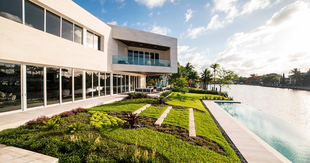 PORCELANOSA Grupo Projects: a paradise of light and comfort in Miami