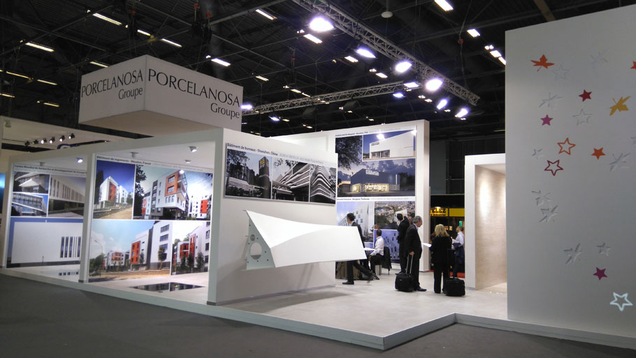 PORCELANOSA Grupo shows its quality and innovation at Batimat, Paris