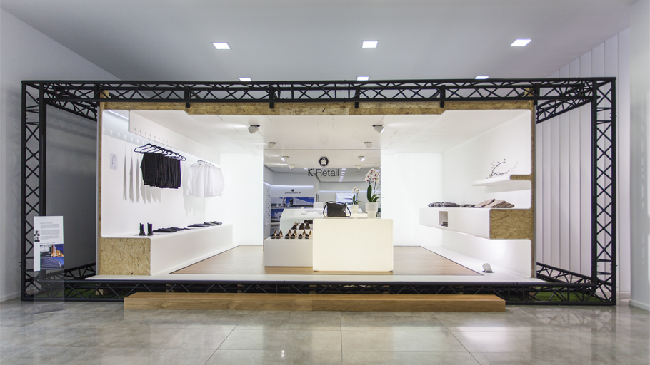 Castel Veciana signs the K® Retail space of the new Krion® showroom
