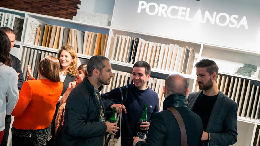 PORCELANOSA Grupo, the contemporary design leader at the Clerkenwell Design Week 2016