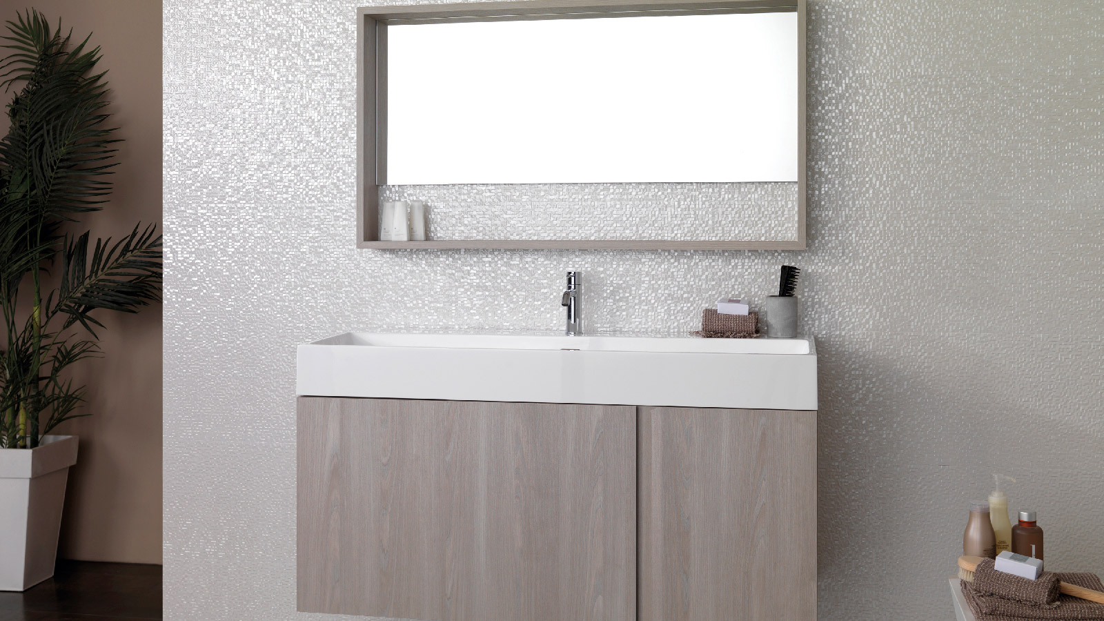 Innovation and elegance in the new bathroom furniture by Gamadecor