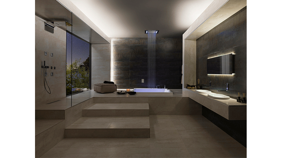 Lounge Wellness Showers: shower sensations for every mood