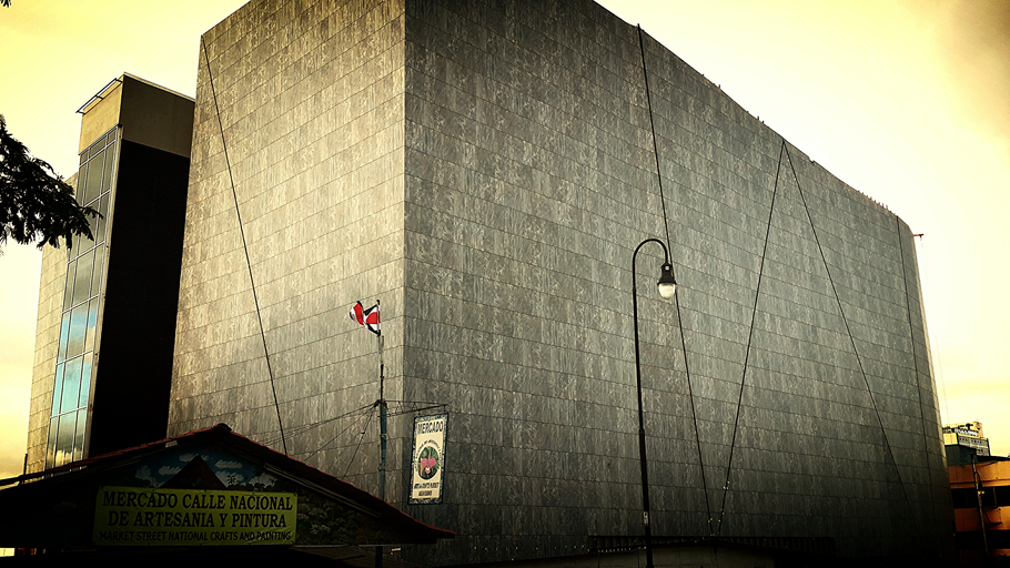 Projects: Facade of the Museo del Jade museum, San José, Costa Rica