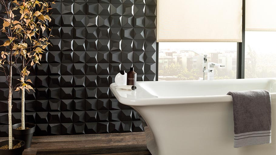 New Faces wall tiles: geometrical naturalness by Ramón Esteve & L'Antic Colonial