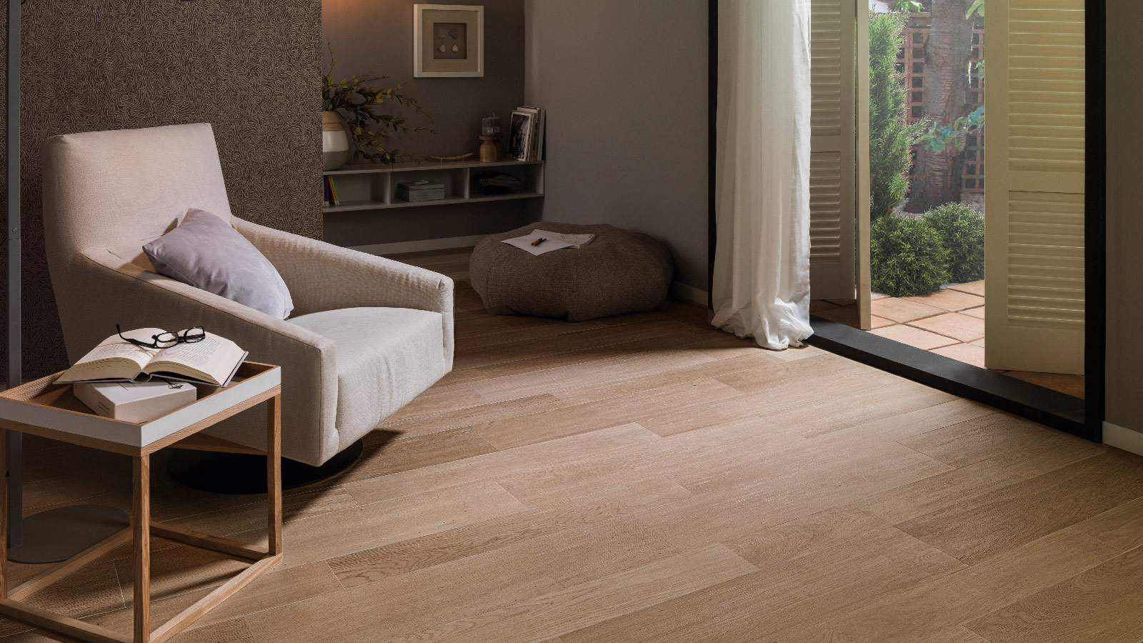 GET THE LOOK: Create your place to relax in with the Forest ceramic parquet by PAR-KER