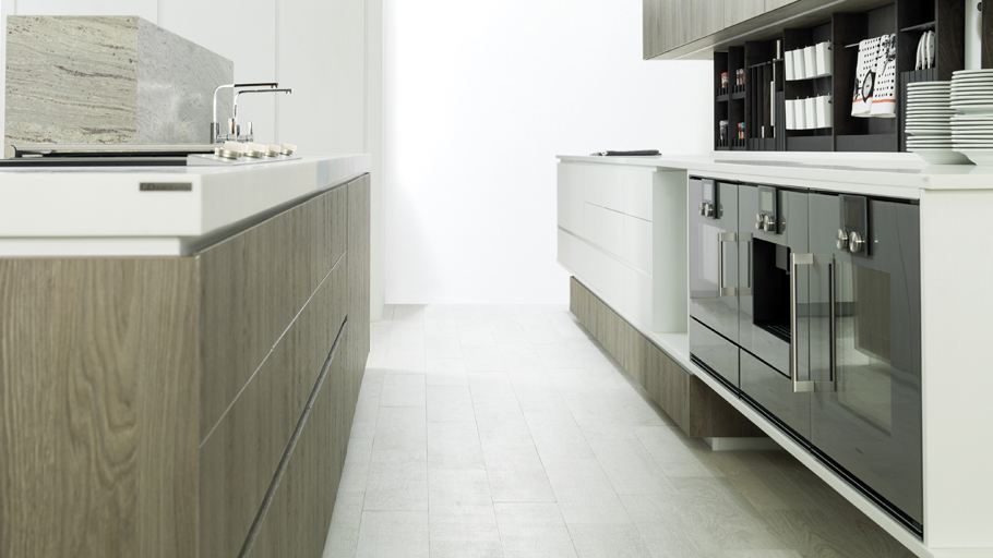 Emotions® by Gamadecor: finishes which adapt to the most modern kitchens