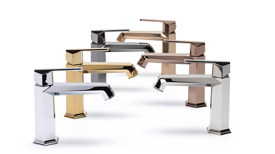 Special finishes for Noken bathroom taps