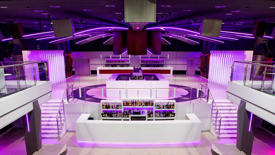 The 9th PORCELANOSA Grupo Awards Finalists: Ícaro Night Club from Velvet Projects, in Completed Projects