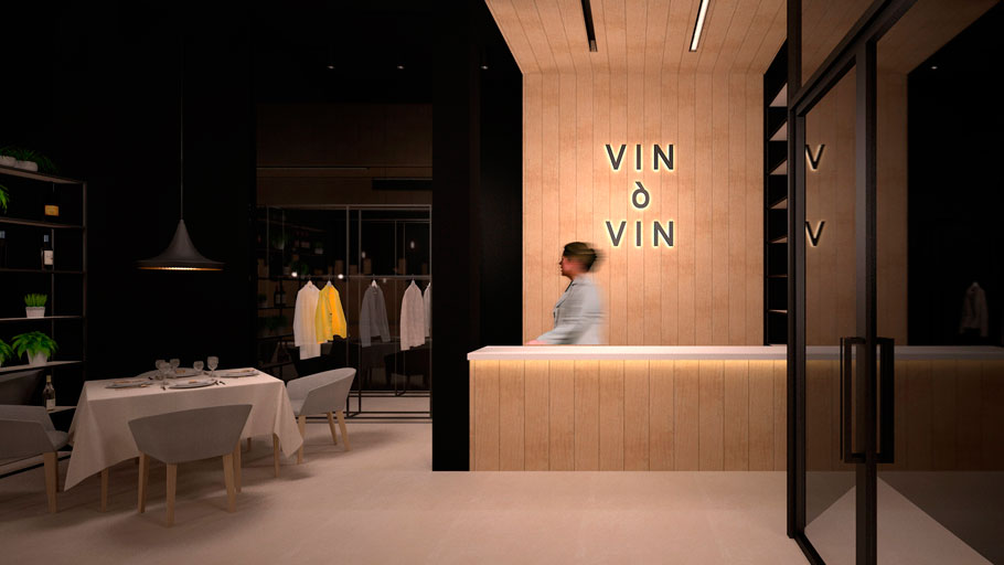 The 9th PORCELANOSA Awards Finalists: The exclusive Vin & Vin gourmet space, Professional Forward-Looking Projects