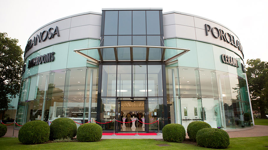 PORCELANOSA Group refurbishes its showroom in Solihull, UK