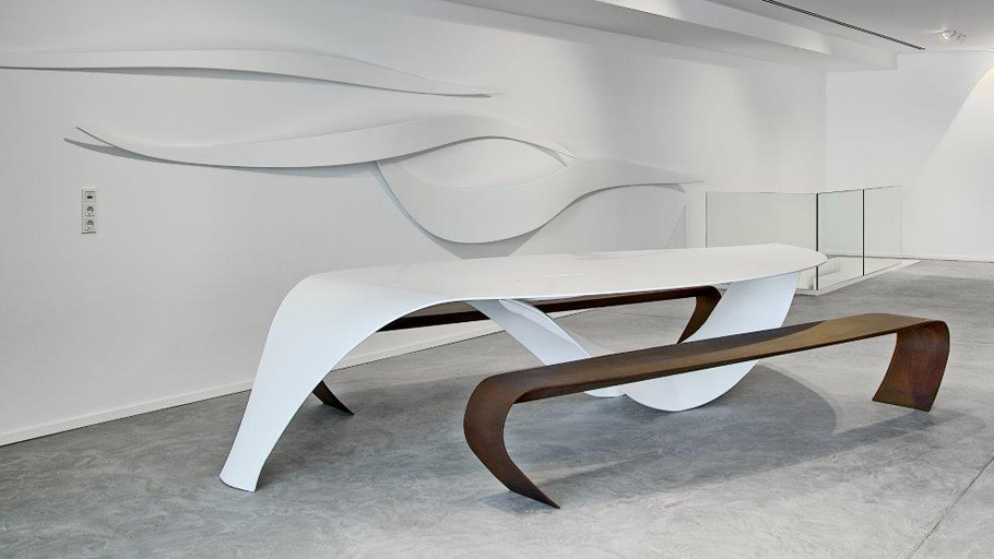 Organic elegance in the new sculptural furniture by Verónica Martinez Design