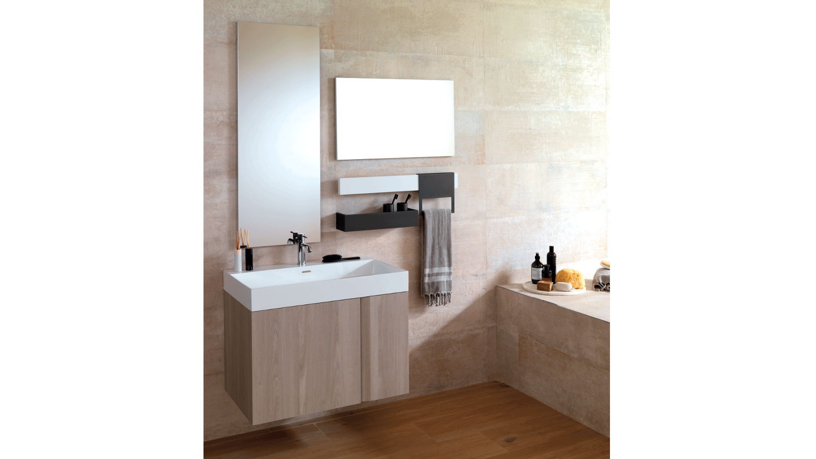 Extra-slim trends with the new Slim basin by Gamadecor