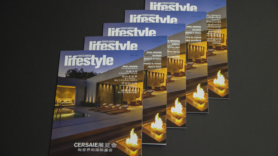 Don't miss the latest edition of the Lifestyle & PORCELANOSA magazine