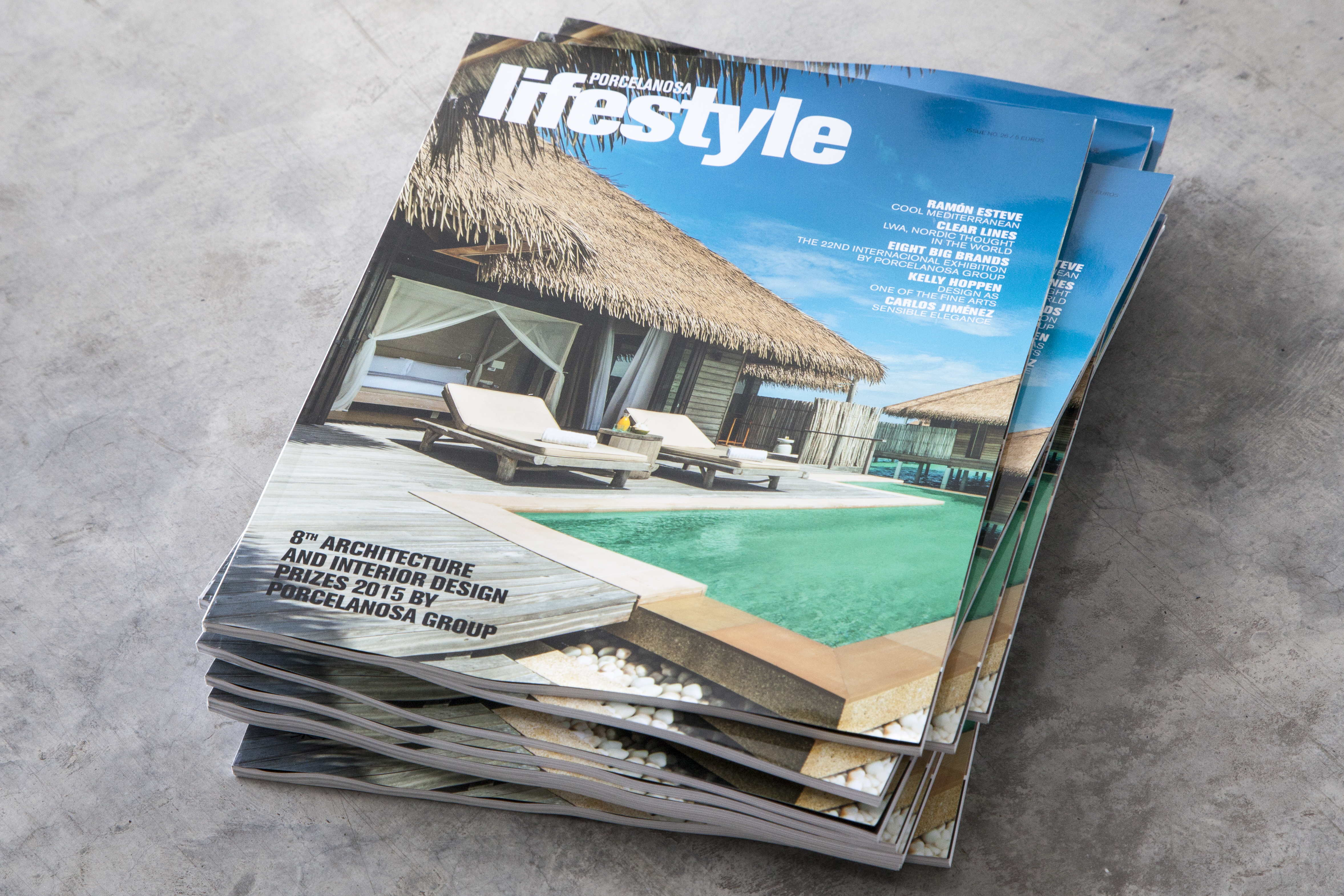 The new issue of LifeStyle Magazine by PORCELANOSA Group