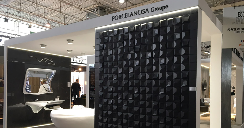Maison&Objet and Paris Design Week, the very latest trends by PORCELANOSA Grupo settings