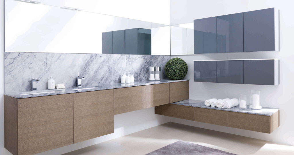 The Next Collection: the exceptional versatility of bathroom furniture