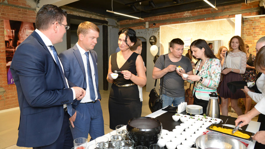 The first PORCELANOSA Grupo showroom in Siberia, Russia