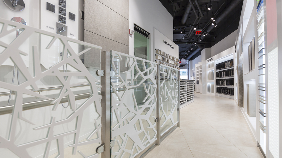 The New showroom by Porcelanosa Grupo in Washington D.C., USA