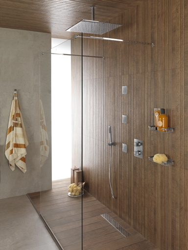 Perfect showers for unique and relaxing experiences