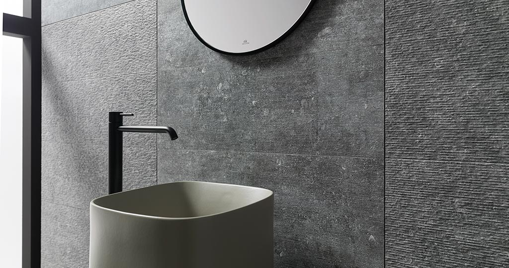 Pietra Blue by Porcelanosa: Belgian stone made flooring and ceramic wall tile