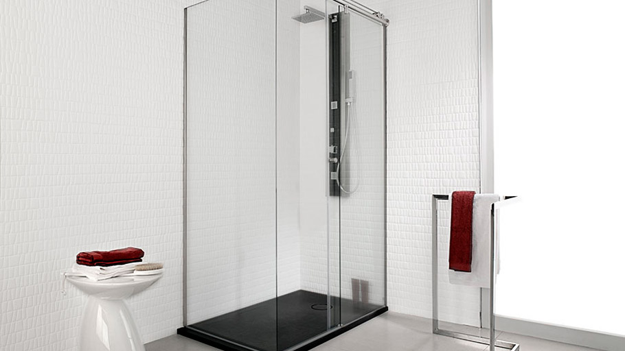 Land shower tray: the ideal solution to turn your bathtub into a shower