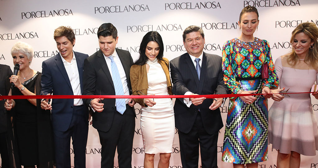PORCELANOSA Grupo consolidates its presence in Latin America with new showrooms in Colombia and Mexico