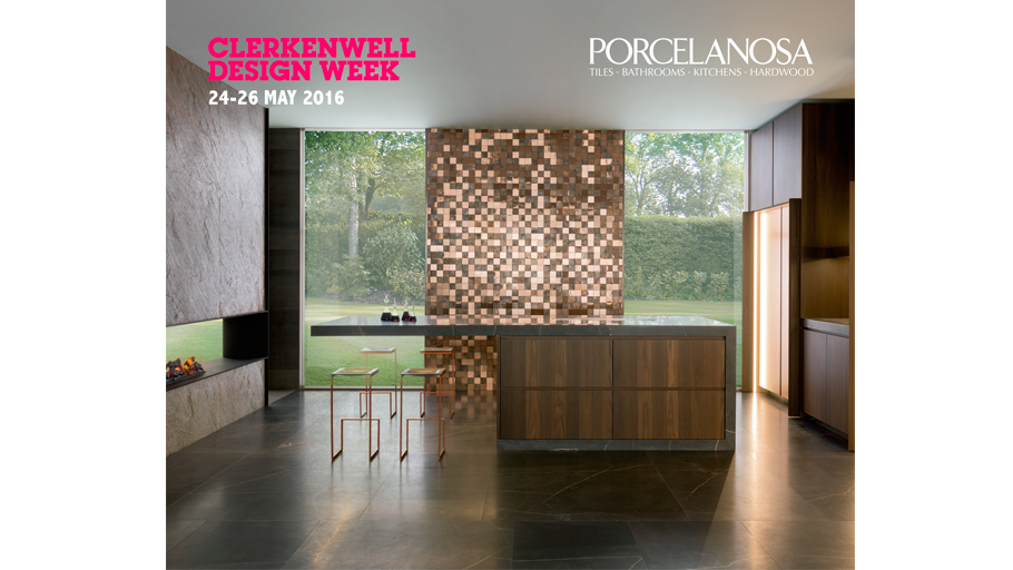 PORCELANOSA Grupo renews its appointment with design in Clerkenwell Design Week 2016