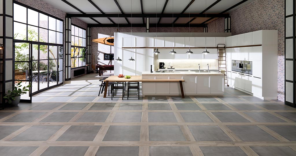 Emotions® e4.40 kitchen by Gamadecor: creative designs with shades of authenticity