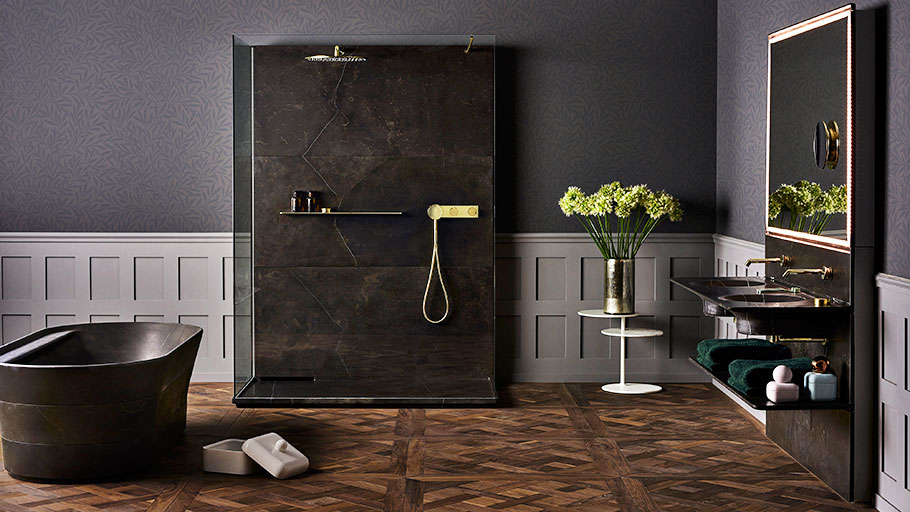 Tono and natural materials: The genuine elegance of authenticness enters the bathroom