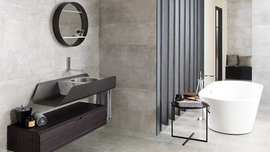 Elegance and sobriety regarding the Duna bathroom collection by Gamadecor