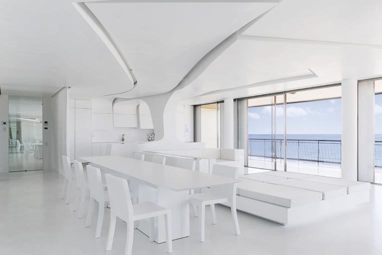 PORCELANOSA Group projects: penthouse in Gandía designed by A-cero
