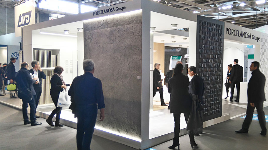 PORCELANOSA Grupo arrives at EquipHotel Paris with great projects for the hotel industry