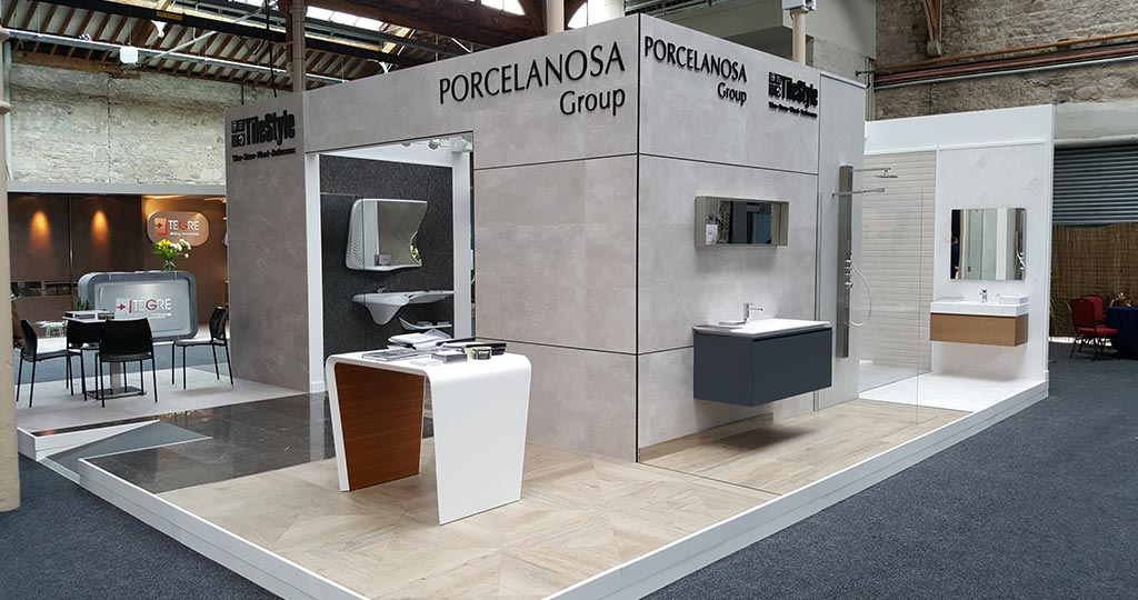 The PORCELANOSA Grupo was present at House 2017, the most important interior design fair in Ireland