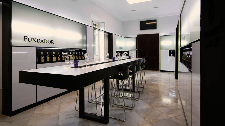 PORCELANOSA Grupo Projects: a partnership, with KRION® at Fundador Wineries, in Jerez de la Frontera