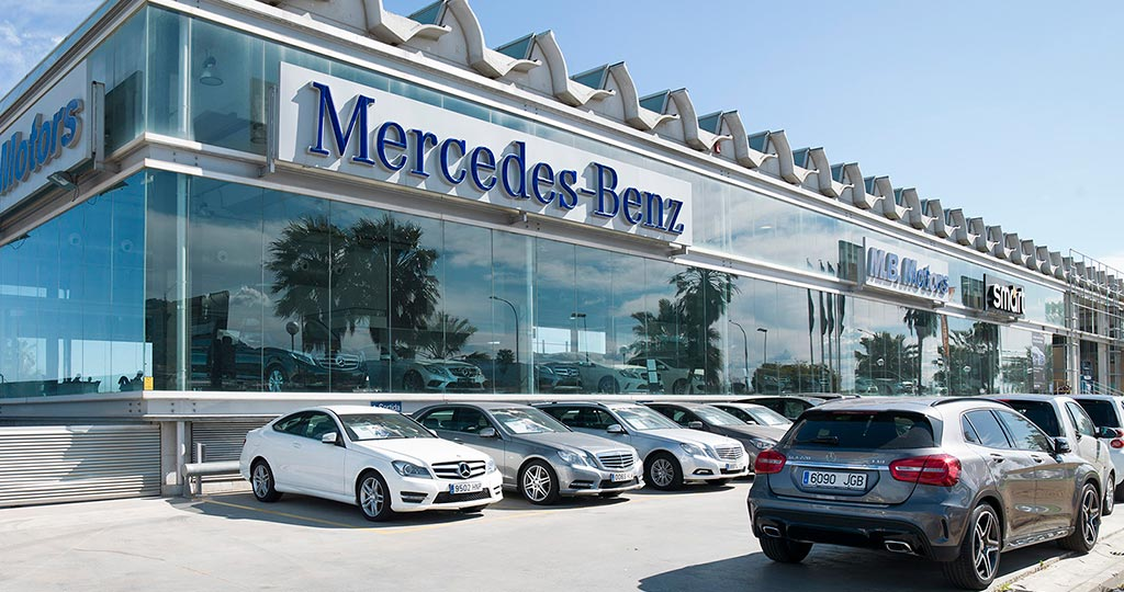 PORCELANOSA Grupo Projects: sophistication and toughness in the Barcelona MERCEDES BENZ showroom