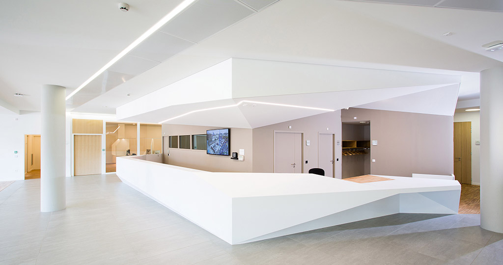 PORCELANOSA Grupo Projects: Innovation and sustainability at the IHU in Strasbourg with KRION®