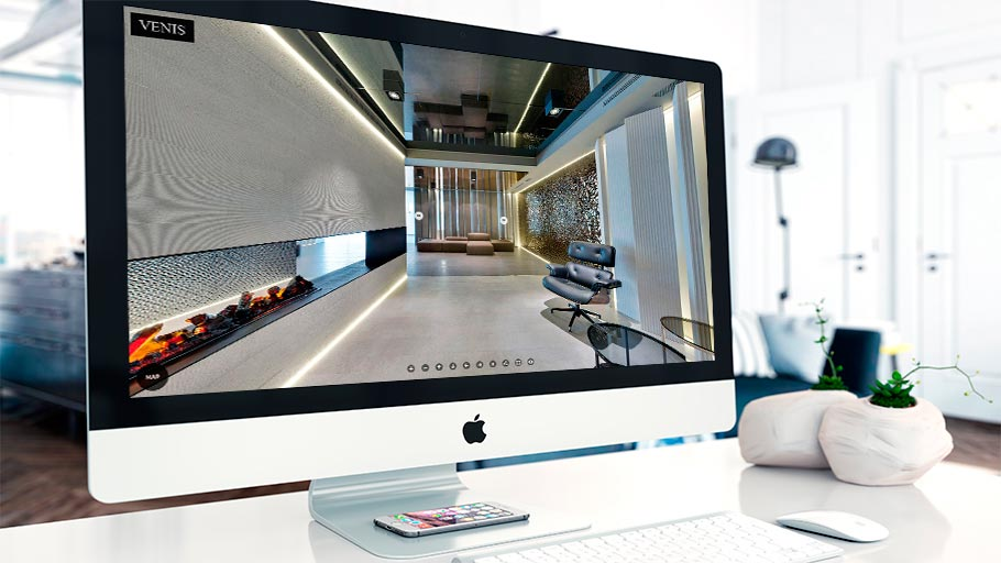 Discover the essence and pure innovation from Venis, in a virtual tour