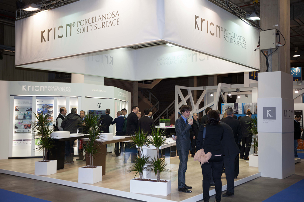 Krion® dazzles at Fimma-Maderalia